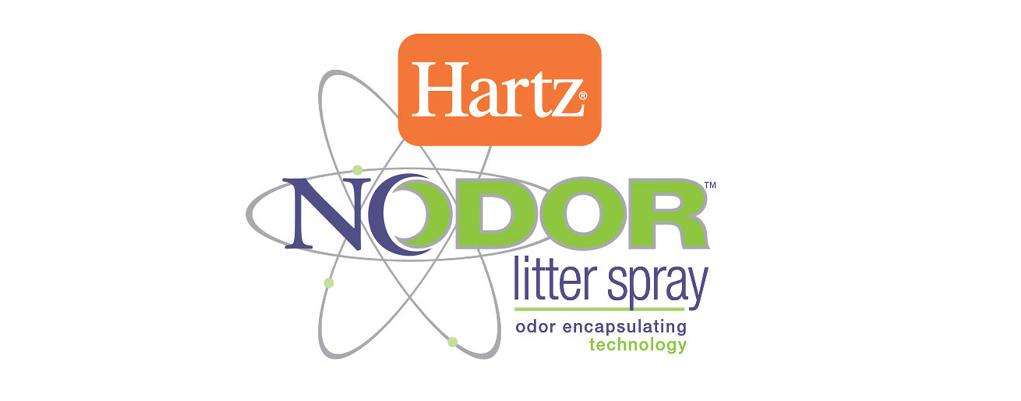 Your cat's litter box doesn't have to stink with Hartz® Nodor™