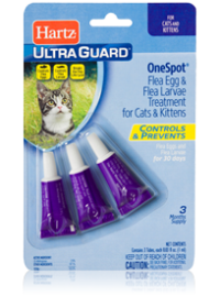 Hartz UltraGuard OneSpot Treatment for Cats and Kittens