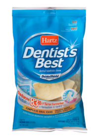Dental treat for dogs that reduces tartar, Hartz SKU 3270001001