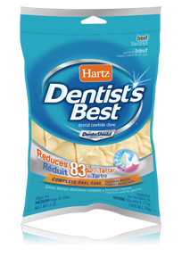 Hartz Dentist S Best With Dentashield Rawhide Chews For