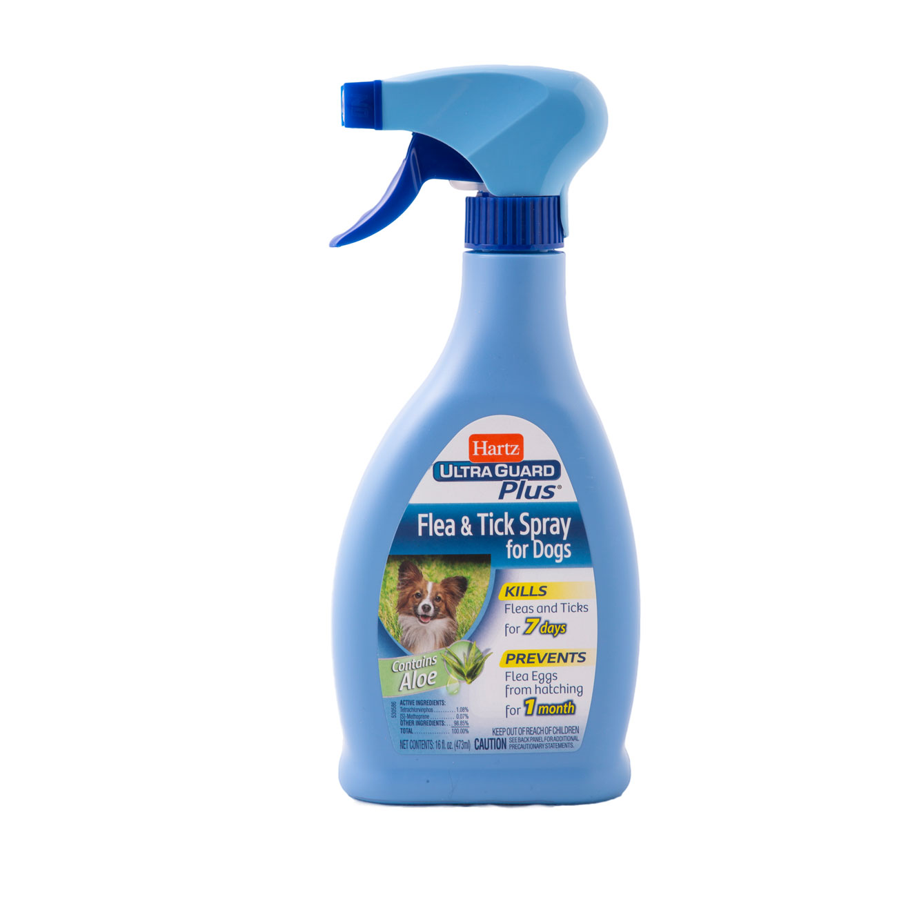 Can you use hartz flea and tick spray for cats on dogs