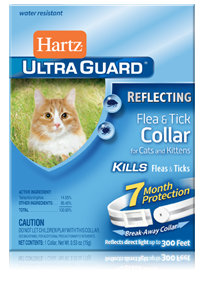 Hartz UltraGuard Reflecting Flea and Tick Collar for Cats and Kittens