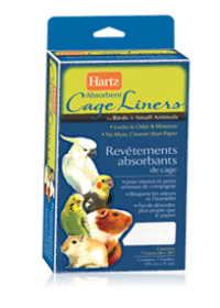 Hartz Absorbent Cage Liners for Birds & Small Animals