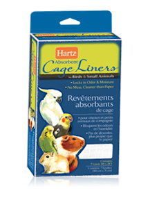 Hartz absorbent cage liners for birds small animals hartz for Fish usa coupon code