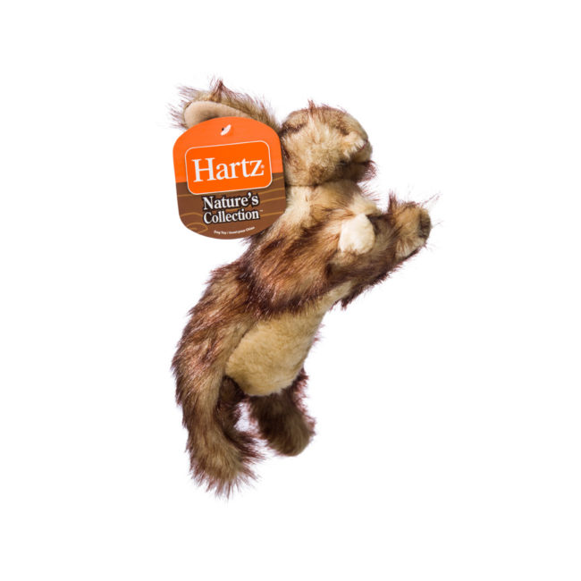Squeaky dog toy in the shape of a plush rabbit, Hartz SKU 3270004349
