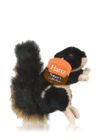 Hartz Nature's Collection Plush Small Dog Toy