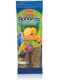 Hartz Bonanza® Parakeet Treat Sticks Orange Citrus Flavor