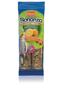 Hartz Bonanza® Cockatiel Treat Sticks Orange Citrus Flavor