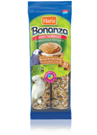 Hartz Bonanza® Parrot Treat Sticks Peanut Butter Flavor