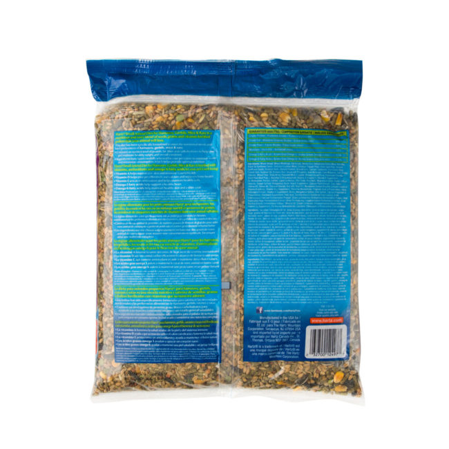 A blend of seeds, grains and pellets for small animals, Hartz SKU 3270012497