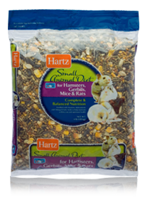 Hartz small animal diets for hamsters gerbils mice for Fish usa coupon code