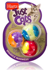 Hartz Just For Cats Sparkle Madness