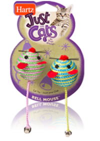 Hartz Just For Cats Bell Mouse