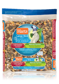 Hartz® Amazon, African Grey, Cockatoo Diet for Large Birds