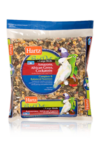 Hartz Amazons African Greys And Cockatoos Diet For