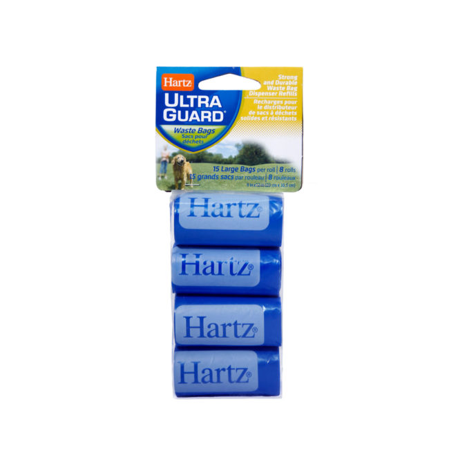 hartz ultraguard waste bag dispenser refills