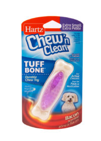 An extra tiny purple dental treat for petite dogs, Hartz SKU 3270014777