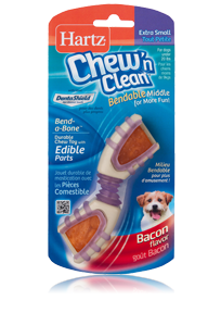 Hartz Chew 39 N Clean Bend A Bone Extra Small Hartz