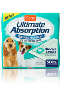 Hartz Ultimate Absorption Dog Pads