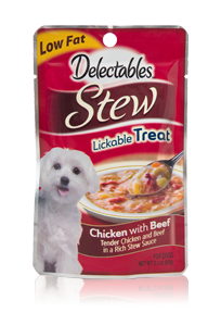 Delectables Stew Lickable Treat Chicken With Beef Hartz