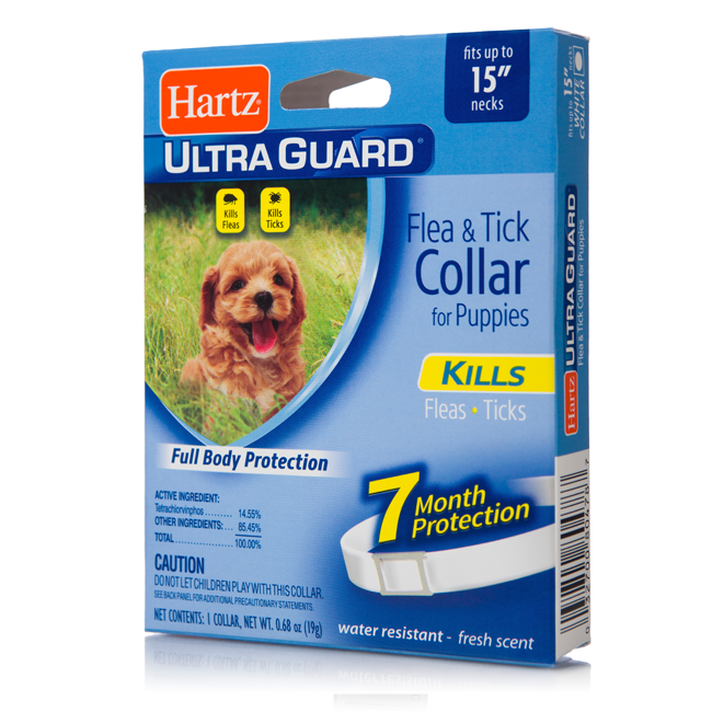 Hartz Ultraguard Flea Tick Collar For Puppies Hartz