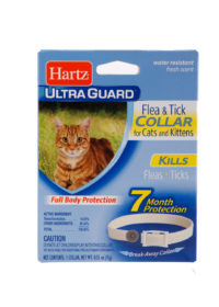 cat parasite protection, cat flea treatment, flea tick collar for cats and kittens