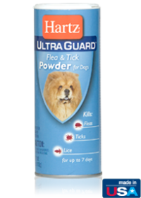 Hartz UltraGuard Flea and Tick Powder for Dogs