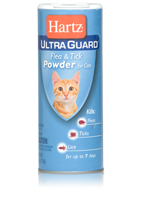 Hartz UltraGuard Flea and Tick Powder for Cats