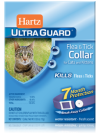 Hartz Flea and Tick Collar for Cats - Purple