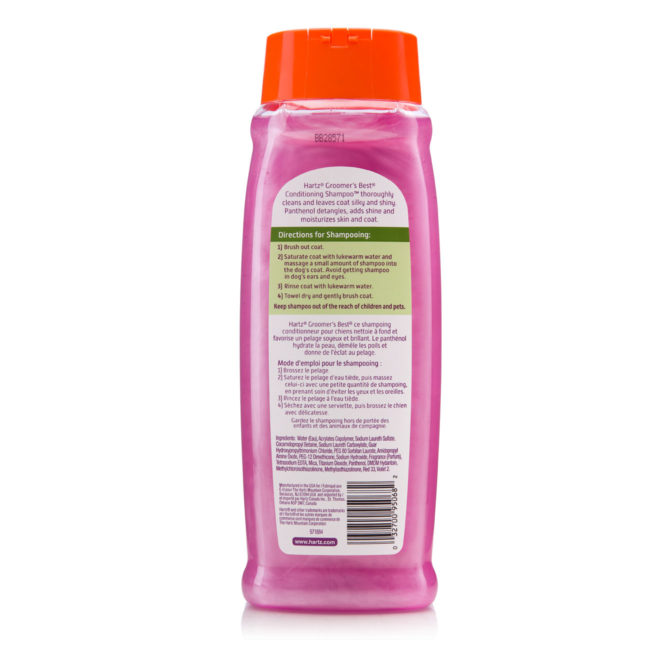 Directions to dog conditioning shampoo, Hartz SKU 3270095068