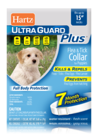 Hartz UltraGuard Plus Flea and Tick Collar for Dogs