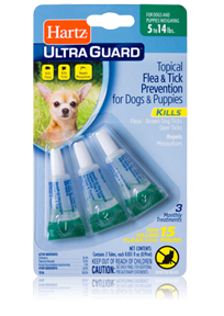 Hartz UltraGuard Topical Flea and Tick Prevention for Dogs and Puppies