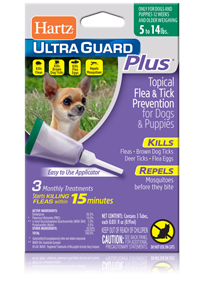 Hartz Ultraguard Plus Topical Flea And Tick Prevention