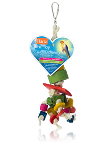 Hartz® Bird Toy for medium sized birds