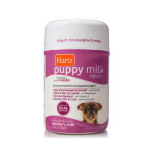 Powdered formula for feeding puppies, Hartz SKU 3270099205