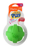 Soft green latex chew toy for dogs, Hartz SKU 3270099393