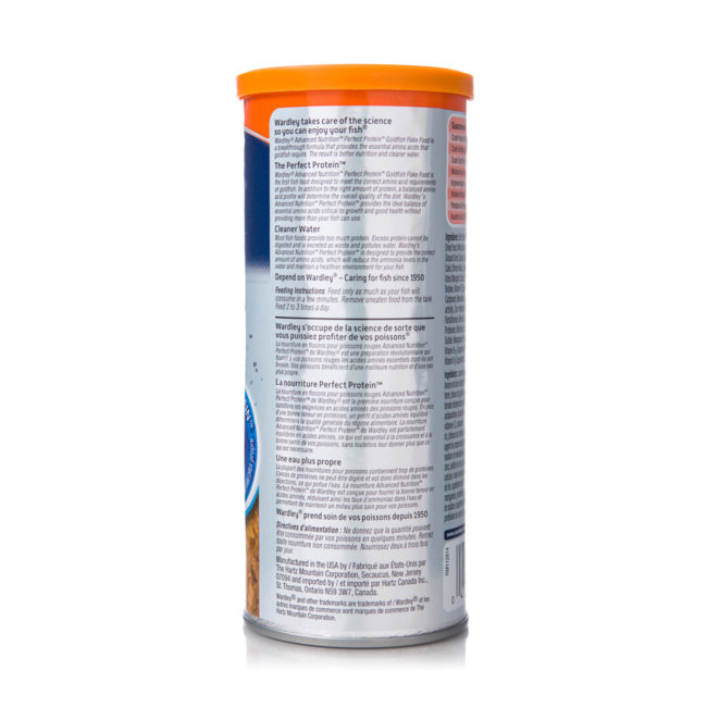A formula of goldfish food, with cleaner water, Hartz SKU 4332400555