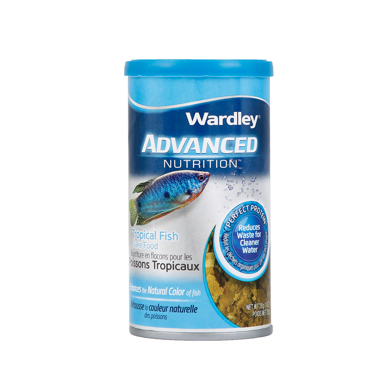 Wardley advanced nutrition tropical fish flake food. Wardley SKU#4332400591