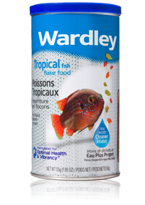 Wardley Tropical Fish Flake Food Hartz