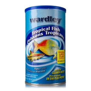 A flake food for tropical fish, without artificial colors, Hartz SKU 4332401517