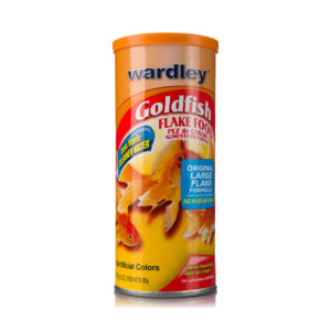 A flake food for goldfish, with cleaner water, Hartz SKU 4332401555