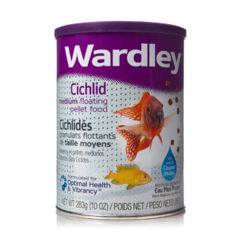 A floating pellet food for cichlid fish, Hartz SKU 4332401633
