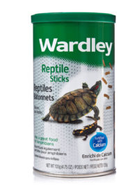 Calcium enriched diet for aquatic pet reptiles, Hartz SKU 4332401691