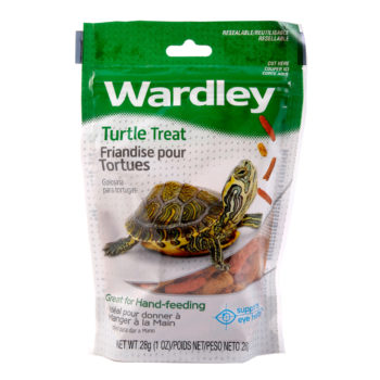 A low fat treat for pet turtles, with vitamins, Hartz SKU 4332412646