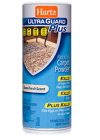 Hartz UltraGuard Plus Flea and Tick Carpet Powder