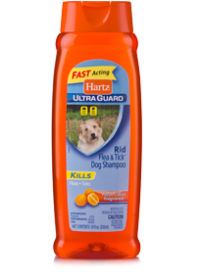 Hartz UltraGuard Rid Flea and Tick Shampoo for Dogs