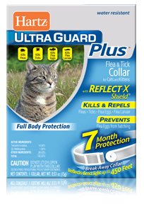 Hartz UltraGuard Plus Reflecting Flea and Tick Collar for Cats