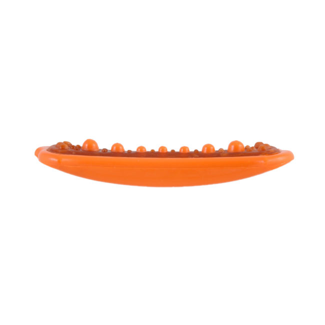 Durable dental chew toy for dogs, with orange nylon, Hartz SKU 3270005416