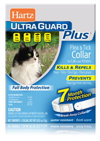 Hartz Ultraguard Plus Flea and Tick Collars for Cats