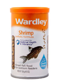 Shrimp pellets formula for bottom feeder pet fish, Hartz SKU 4332400094